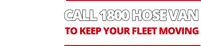Call 1800 HOSE VAN to keep your fleet moving